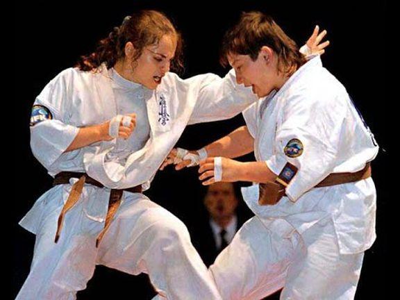 b 809 - Каратэ Кёкусинкай – женский вид спорта?