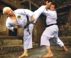 shimabukuro klick 300x245 - Карате для взрослых - это самосовершенствование, дисциплина и упорные тренировки.